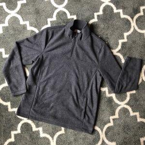 Croft & Barrow - 3/4 Sleeve Zip-Up Sweater